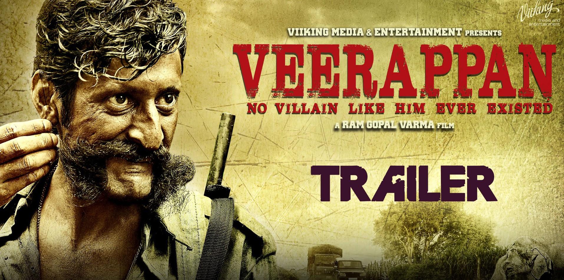 રામ ગોપાલ વર્મા ની ફિલ્મ 'વિરપ્પન' 27 મેં એ રીલીઝ થશે