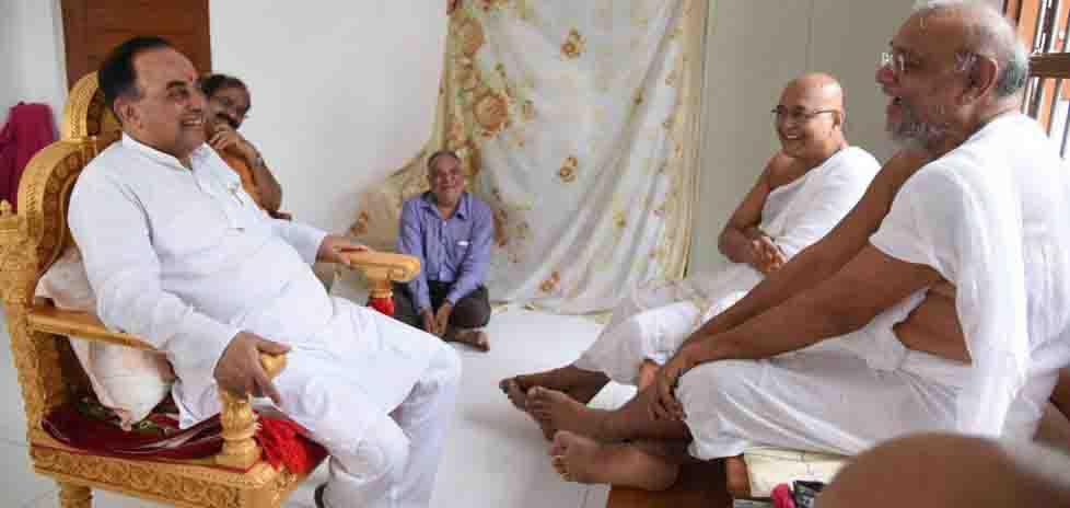 રાજ્ય સભાના સાંસદ ડો.સુબ્રમણ્યમ સ્વામી એ રાહુલ ગાંધી અને કેજરીવાલ પર કરી કટાક્ષ