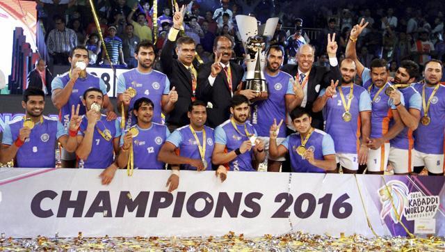 કબડ્ડી વિશ્વકપમાં ભારતની ઇરાન સામે જીત