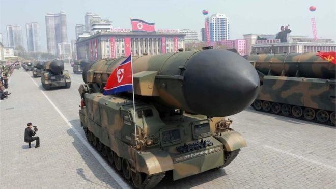 ઉત્તર કોરિયાએ વધુ એક બેલેસ્ટિક મિસાઈલનું પરીક્ષણ કર્યું