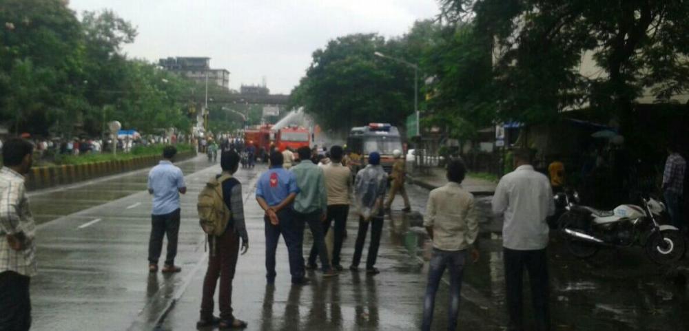 મુંબઈમાં સીએનજી ગેસ લિકેજ થતા અફડાતફડી