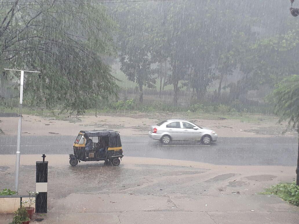 ભરૂચ જિલ્લામાં મોસમનો કુલ વરસાદ 216 ઇંચ થી વધુ વરસાયો