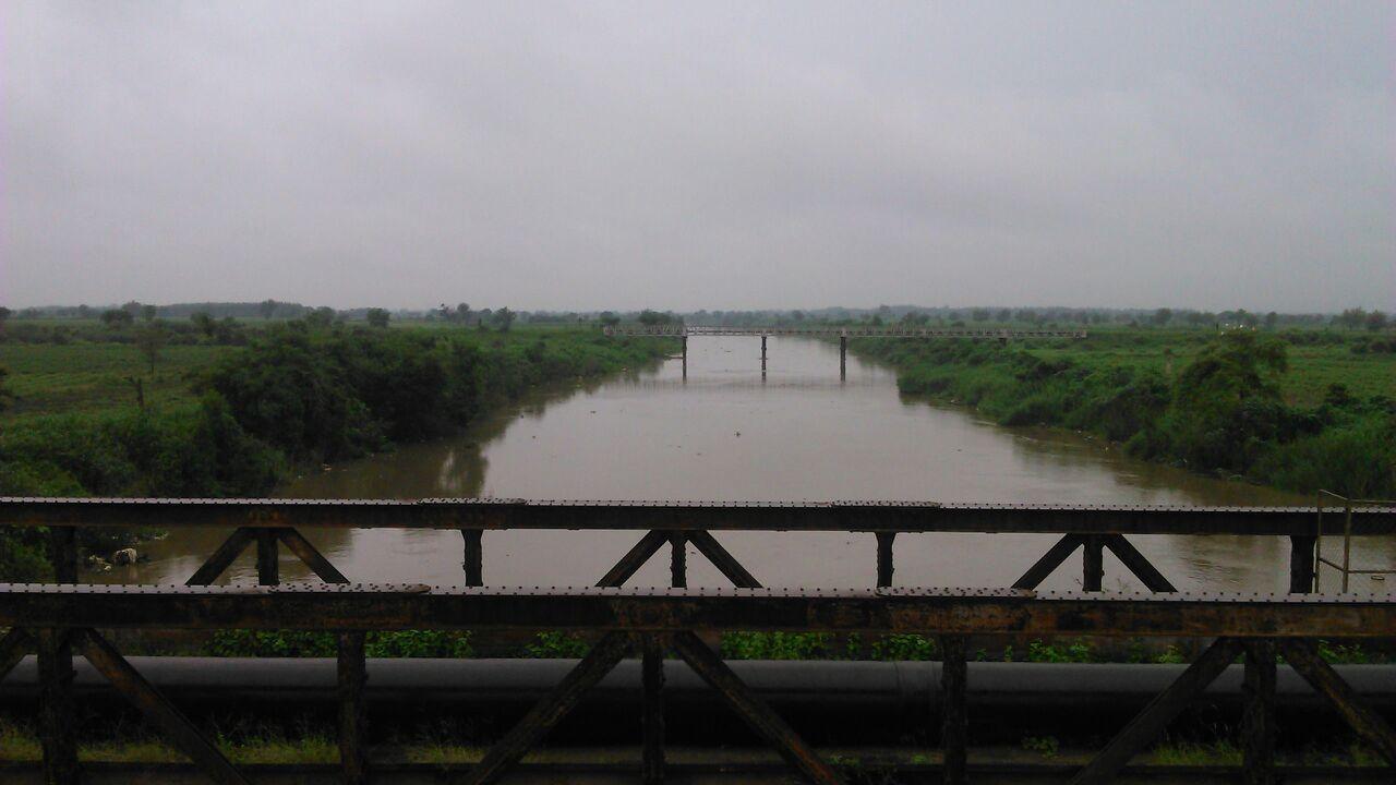 આમોદ ઢાઢર નદીમાં પાણીની સપાટી 95.5 ફૂટે પહોંચી