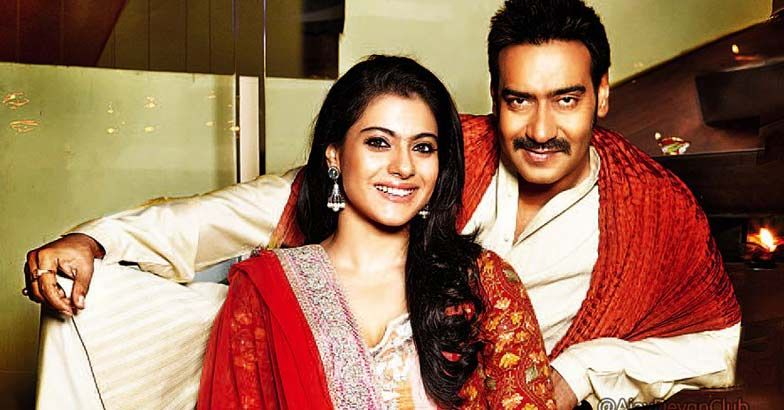 Kajol with husband Ajay