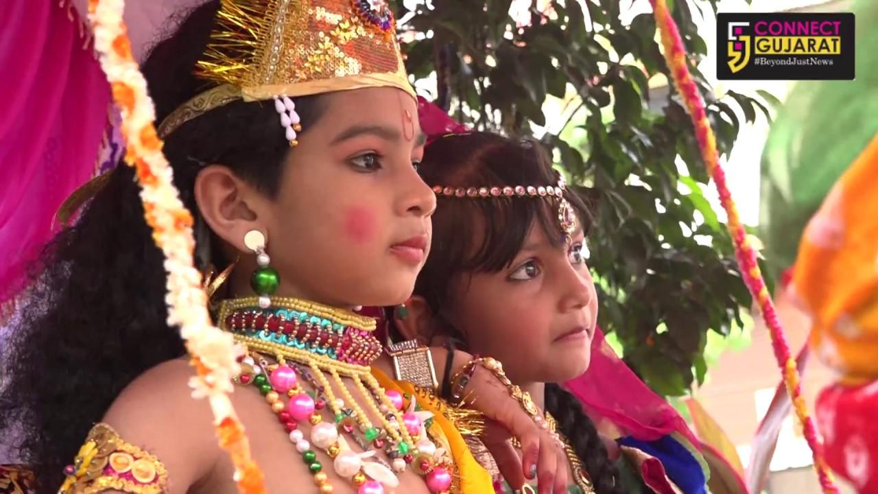 અંકલેશ્વરમાં ભગવાન શ્રી કૃષ્ણનાં જન્મોત્સવની સમાજની એકતા અખંડતા સાથે દબદબાભેર ઉજવણી