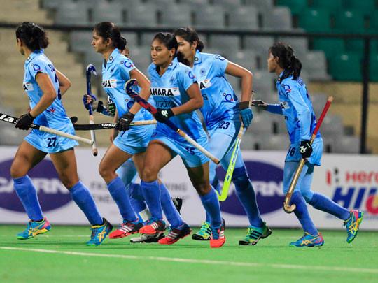 ભારતની મહિલા હોકી ટીમનો એશિયા કપની ફાઈનલમાં પ્રવેશ