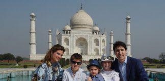 canedian pm in india