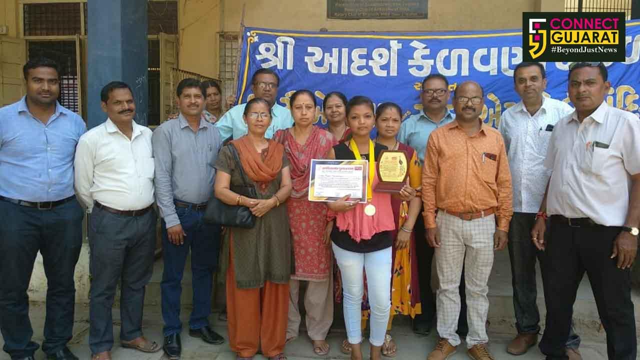 ગુજરાત રાજ્ય કલાશિક્ષક સંઘ આયોજિત રંગપુરણી ચિત્ર સ્પર્ધામાં અંકલેશ્વરની વિદ્યાર્થીની રાજ્ય કક્ષાએ શ્રેષ્ઠ ચિત્ર કૃતિ તરીકેની પસંદગી પામી