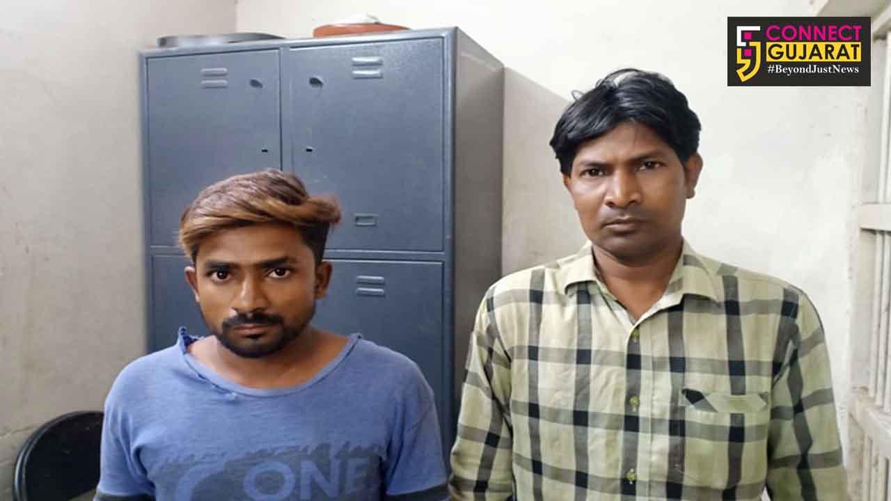 કરજણના રારોદ ગામમાંથી જુગાર રમતા બે જુગારીઓ ઝડપાયાં, બે ફરાર
