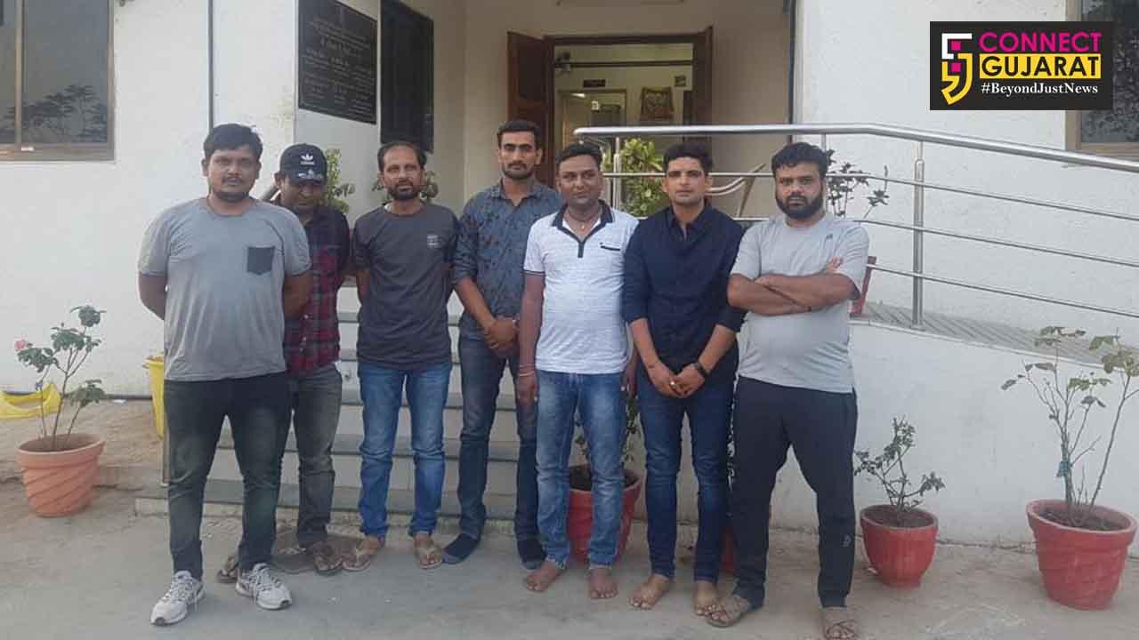 પાલનપુર:T 20 ક્રિકેટ પર સટો રમતા 6 ઝડપાયા, 2 લાખનો મુદ્દામાલ કર્યો જપ્ત