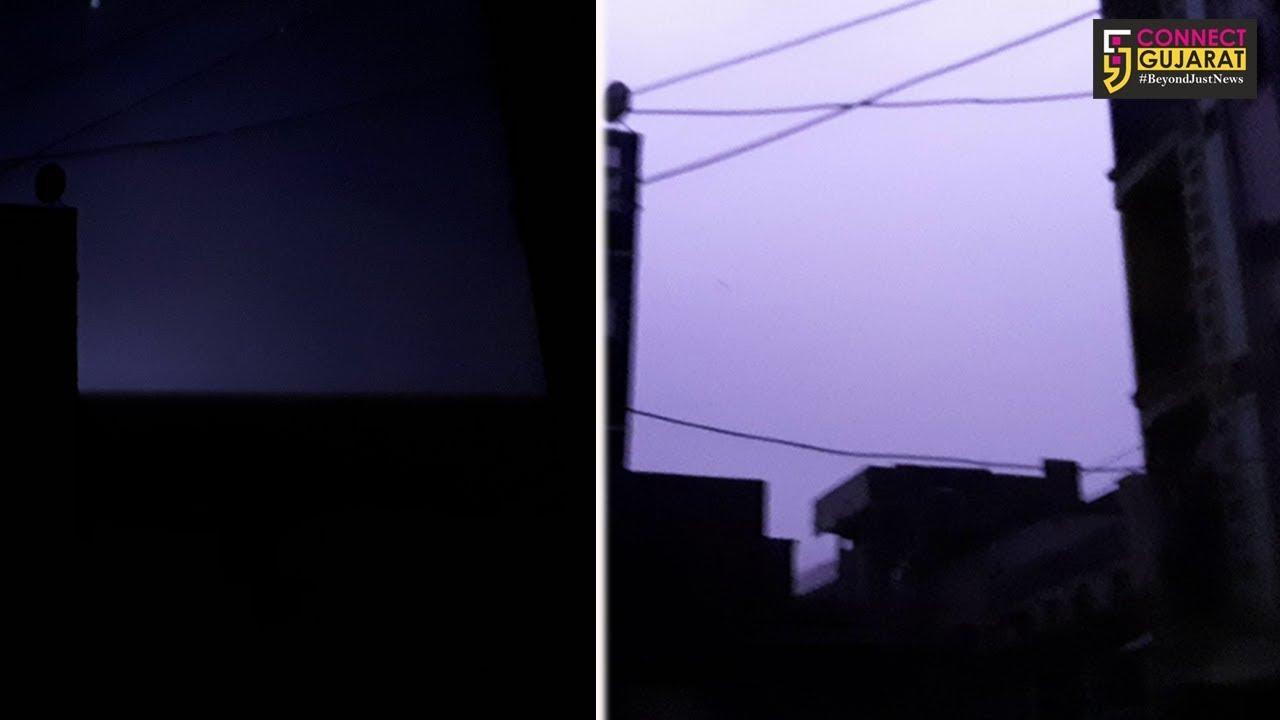 દાહોદમાં મોડી રાત્રીએ ધડાકા ભડાકા સાથે ધોધમાર વરસાદ