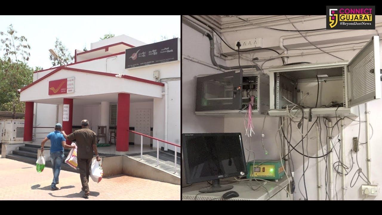 રાજકોટમાં પોસ્ટ ઓફિસની તિજોરી તોડી રોકડ તેમજ મહત્વના દસ્તાવેજોની ચોરી