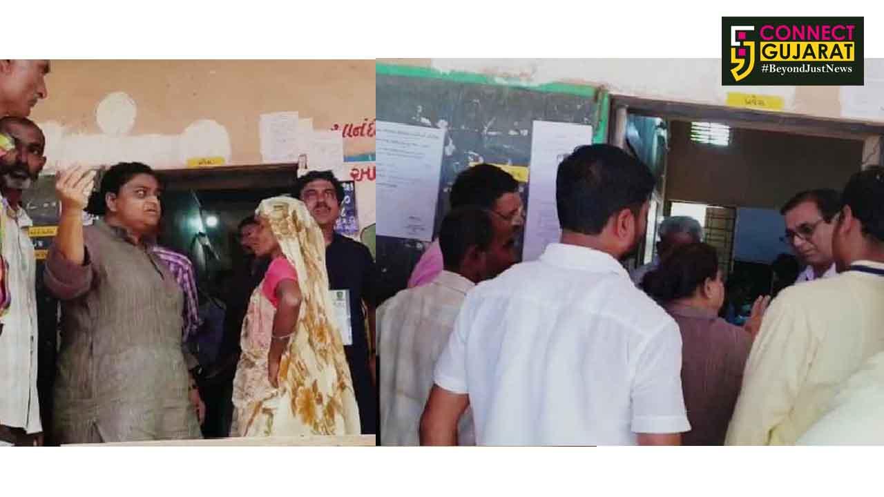 આણંદ:લોકસભાના ધર્મજ બુથ ઉપર યોજાયેલ પુનઃ મતદાનમાં એક જ નામ ધરાવતી બે મહિલા મતદારના નામથી સર્જાયો વિવાદ