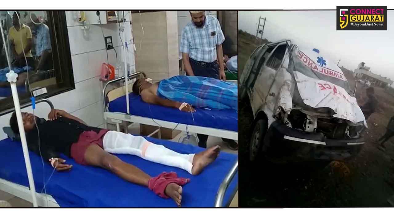 મધ્યપ્રદેશ અને ગુજરાત બોર્ડર પર આવેલી ખંગેલા ચેકપોસ્ટ નજીક થયો અકસ્માત, 3 ઇજાગ્રસ્ત