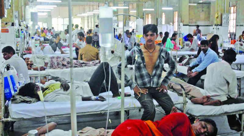 વડોદરા: ઝાડા-ઉલટીના કારણે ૧નું મોત, પાંચ મહિનામાં તાવના ૧૧ હજાર કેસ નોંધાયા