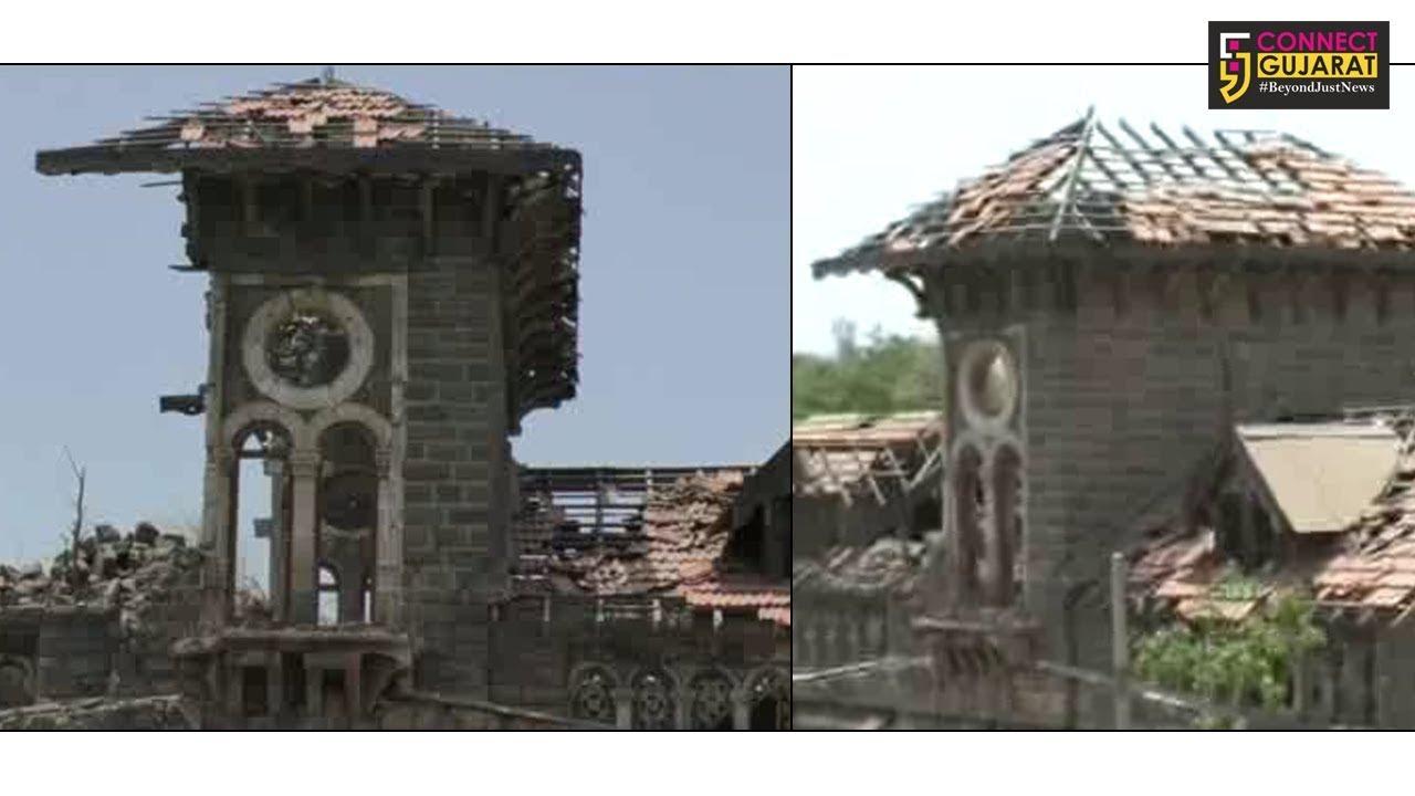 ચોમાસુ નજીક આવતા જ જામનગર મહાનગર પાલિકાને જર્જરિત બિલ્ડીંગો યાદ આવી