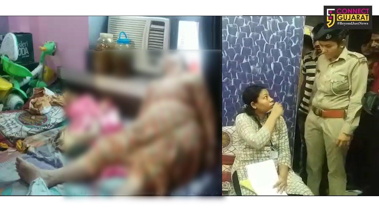 અમદાવાદનાં ઓઢાવમાં મહિલાના મોત મામલો, પતિ ફરાર થતા પોલીસને થઈ હત્યાની શંકા