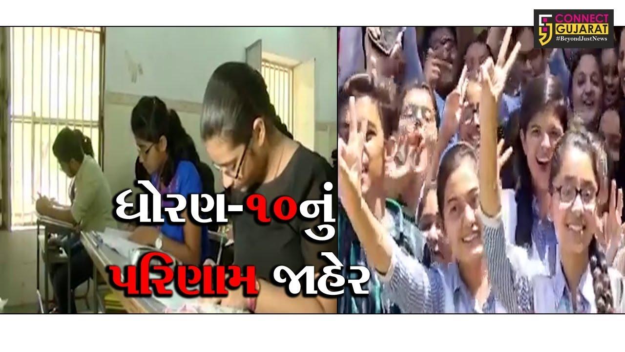 ગુજરાતમાં ધોરણ-10નું 66.97 ટકા પરિણામ જાહેર, સૌથી વધુ સુરતનું 79.63 ટકા પરિણામ
