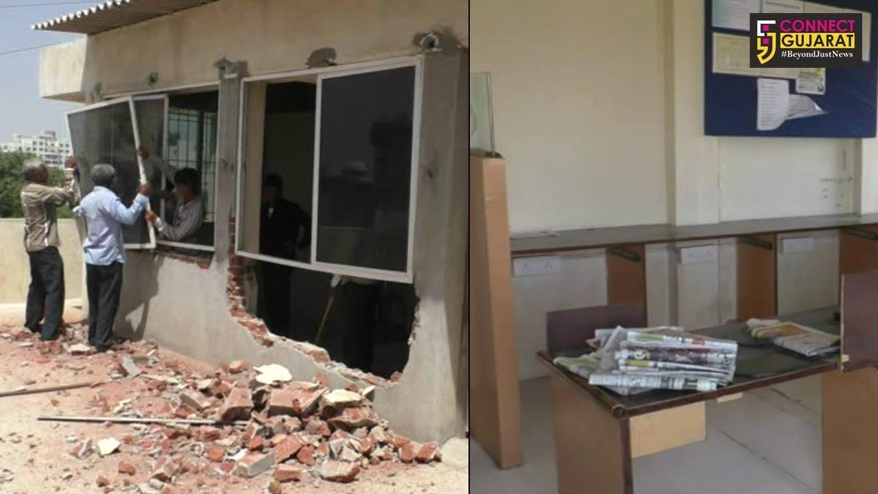 જામનગર: તંત્ર દ્વારા રૂફટોપ પર ચાલતું પટેલ કોમ્પ્યુટર નામનું ક્લાસીસ નોટિસ આપી કરાવ્યું બંધ