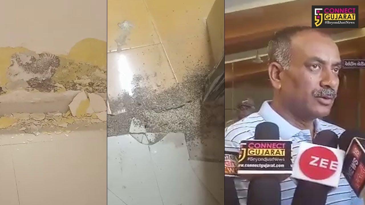 જૂનાગઢ: સાડા ચાર કરોડના ખર્ચે બનાવાયેલ શામળદાસ ગાંધી ટાઉન હોલના અધુરા કામના પગલે વિવાદમાં
