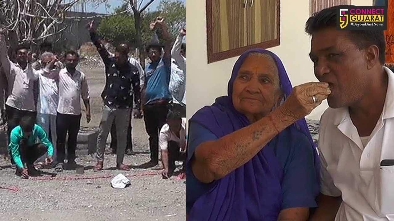 અમરેલી: પુરૂષોત્તમ રૂપાલાને મોદી સરકારમા સ્થાન મળતા તેમના વતન ઇશ્વરીયા ખાતે ખુશીનો ઉત્સવ