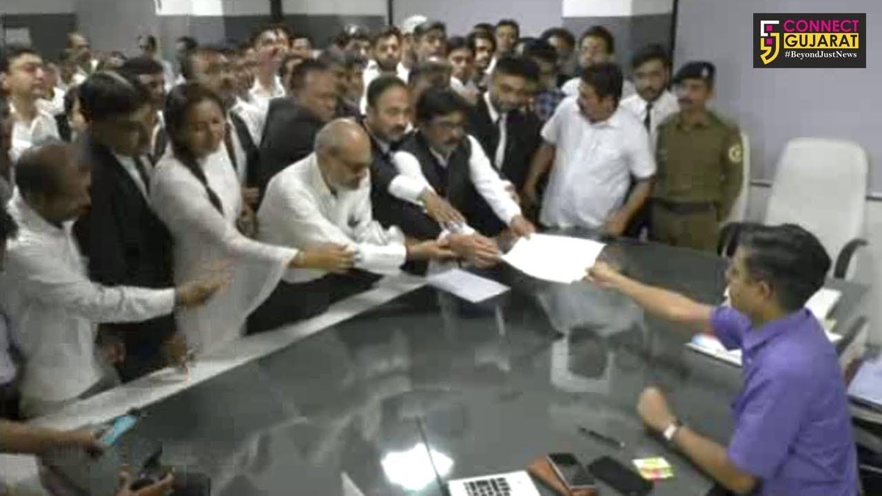 જામનગર: વકીલોએ રેલી યોજી આવેદન પાઠવી એડવોકેટ પ્રોટેકશન એકટની કરી માંગ