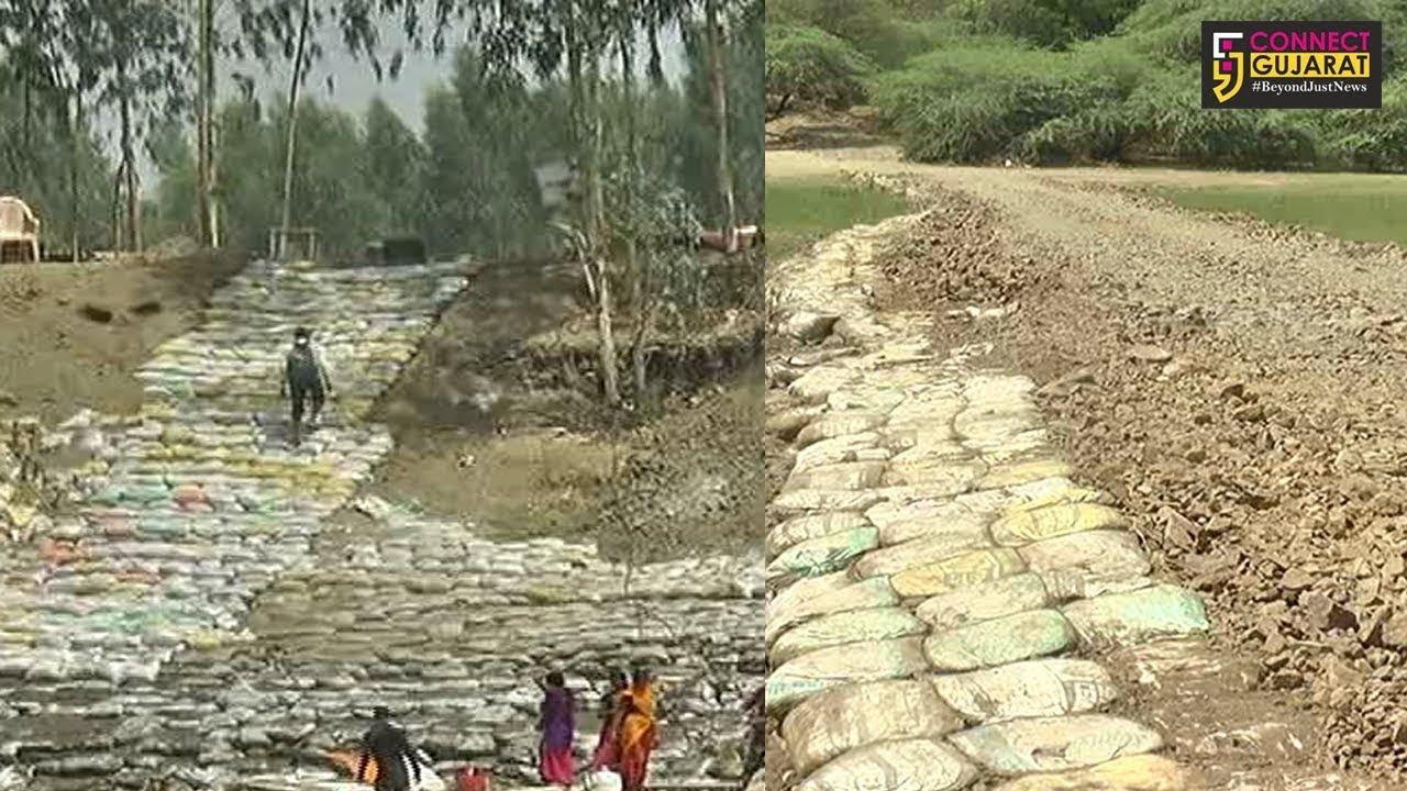 CRZની પૂર્વ મંજૂરી વિના ભરૂચના ઝાડેશ્વર પાસે બેટના રિસોર્ટ પર જવા માલિકે નદીમાં જ બનાવ્યો રસ્તો