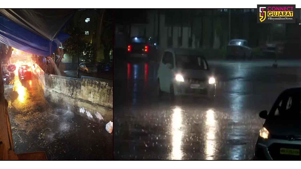 મુંબઈમાં મેઘરાજાની ધમાકેદાર એન્ટ્રી, અનેક વિસ્તારોમાં વરસી રહ્યો છે ધોધમાર વરસાદ