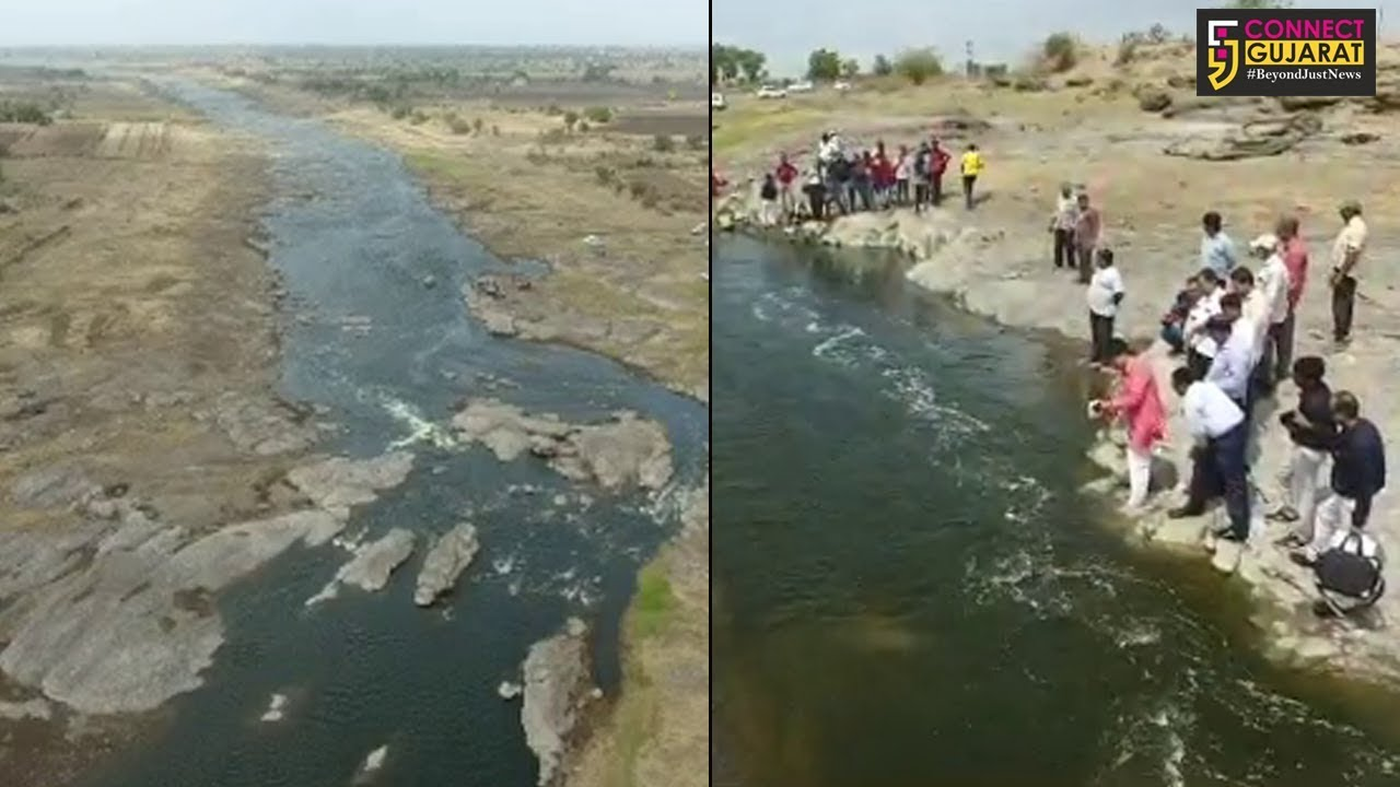 રાજકોટ જિલ્લાના સૌથી મોટા ડેમ ભાદર ડેમમાં નર્મદા નીર પહોંચ્યા, અનેક ગામડાઓનું જળ સંકટ દૂર