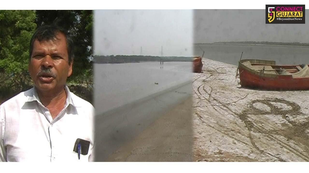 નર્મદા નદીમાં1500ક્યુસેક પાણી છોડવાના સરકારના નિર્ણય સામે ખેડૂતોમાં રોષ