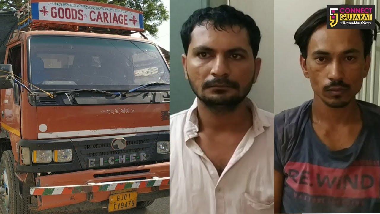 અરવલ્લી : મોડાસા રૂરલ પોલીસે 26 પશુઓને મોતના મુખમાંથી બચાવ્યા, 2 કસાઇ દબોચ્યા