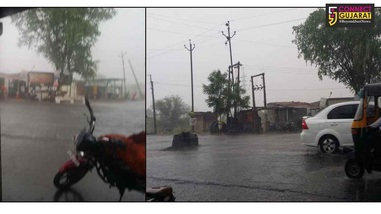 પાલેજ પંથકના ગ્રામીણ વિસ્તારમાં વરસાદની ધમાકેદાર એન્ટ્રીથી વાતાવરણમાં ઠંડક