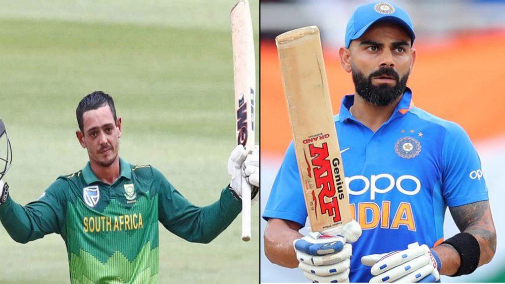 ભારત-સાઉથ આફ્રિકા વચ્ચે આજે પ્રથમ T20 મેચ રમાશે.