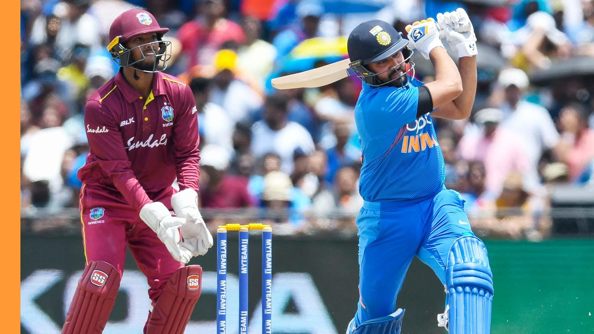 આજે ભારત અને વેસ્ટ ઈન્ડિઝ વચ્ચે ક્રિકેટ વન-ડે માં ખરાખરીનો મુકાબલો