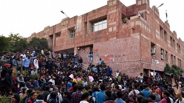 દિલ્હી: ABVPની રાષ્ટ્રીય મહાસચિવ નિધિ ત્રિપાઠીએ કહ્યું, JNUના કેમ્પસમાં થયેલ હુમલો નક્સલી હુમલો હતો