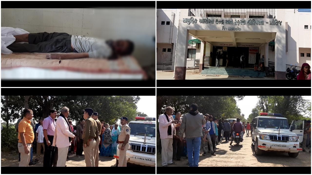 સાબરકાંઠા : સુખડ ગામ નજીક અમદાવાદના પોલીસ જવાનનું અજાણ્યા વાહનની ટક્કરે નીપજ્યું મોત