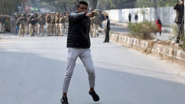 દિલ્હી : ચુસ્ત પોલીસ બંદોબસ્ત હોવા છતાં બંદુકધારીએ કર્યો ગોળીબાર, એક વિદ્યાર્થી ઘાયલ