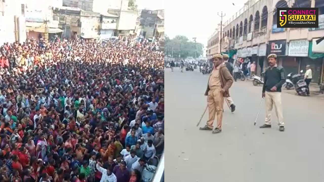 ગુજરાત : ખંભાતમાં અશાંતધારો લાગુ, એસપી સહિત બે અધિકારીઓની બદલી