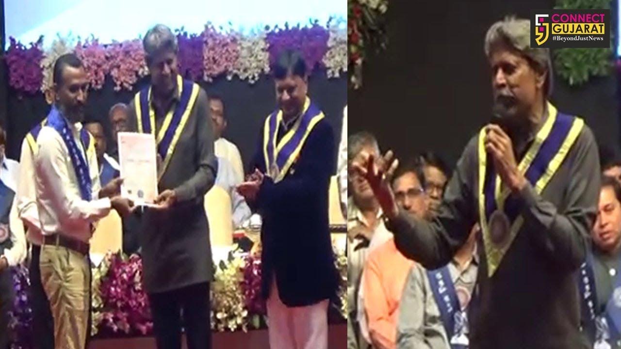 સુરત : પૂર્વ ભારતીય ક્રિકેટર કપિલ દેવે કરી રમૂજ, જુઓ VNSGUના પદવીદાન સમારોહમાં શું કહ્યું..!