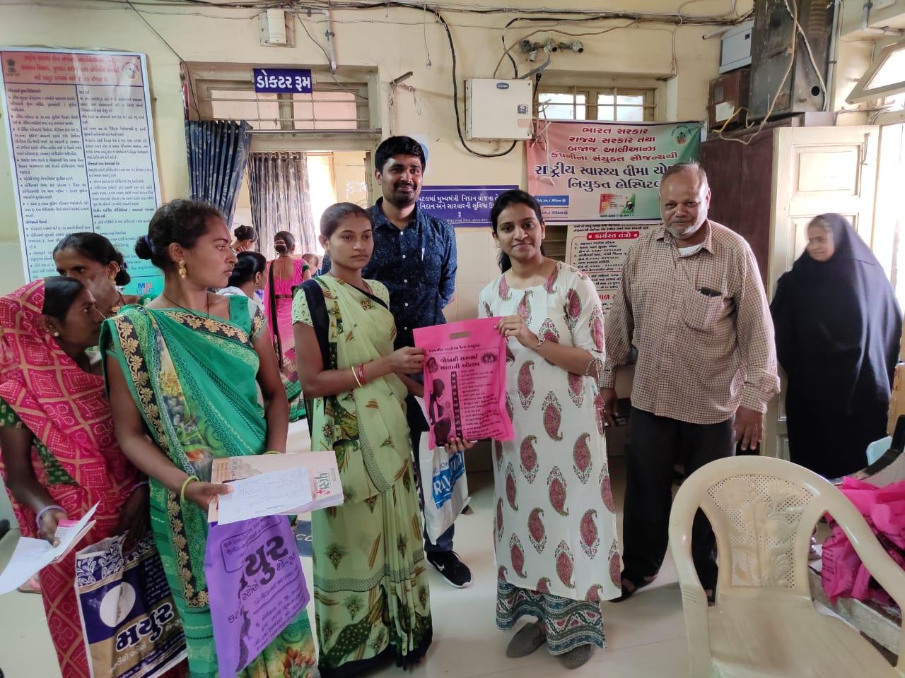 ભાવનગર :સામહુિક આરોગ્ય કેન્દ્ર ઘોઘા ખાતે સગર્ભા તપાસણી કેમ્પનો ૨૨૯ સગર્ભા મહિલાઓ લાભ લીધો