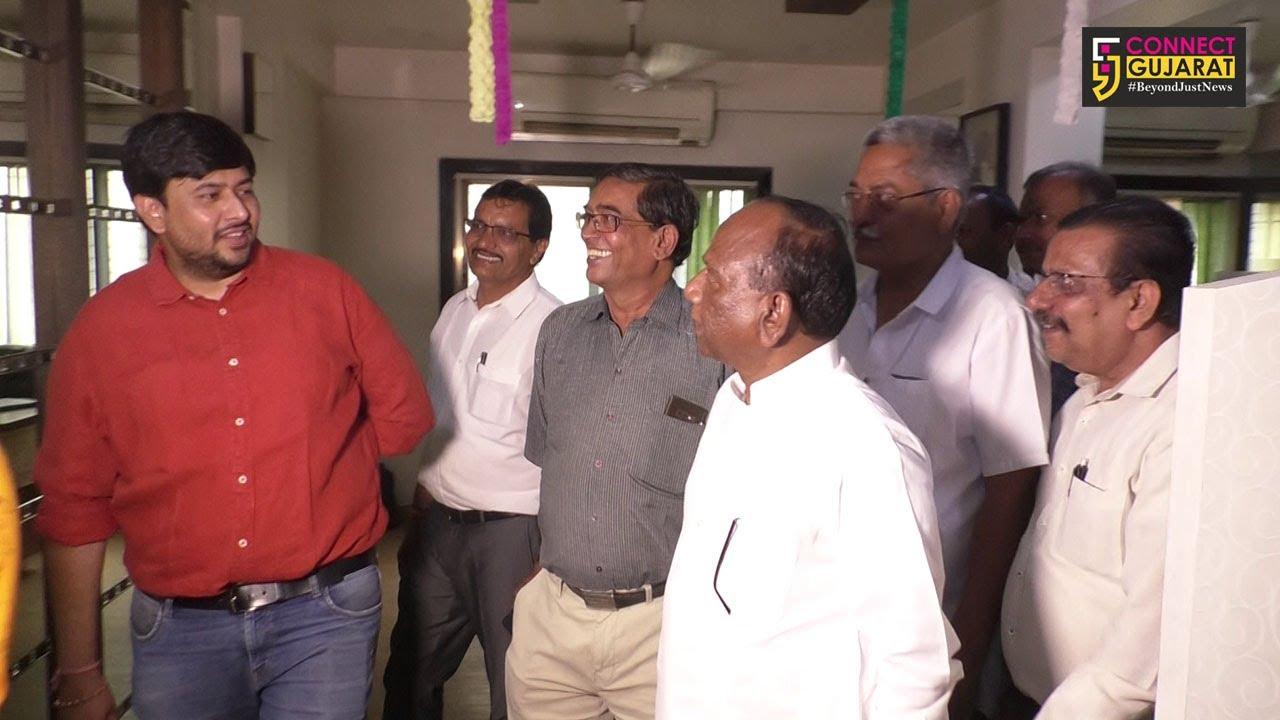 અંકલેશ્વર : સાંસદ મનસુખ વસાવાએ કનેકટ ગુજરાતના કાર્યાલયની લીધી મુલાકાત