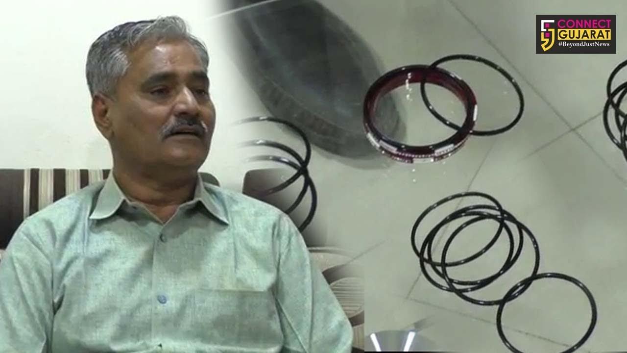 કચ્છ : પ્રધ્યુમનસિંહ જાડેજાના ટેબલ પર અચાનક મુકાઇ બંગડીઓ, જુઓ શું છે ઘટના