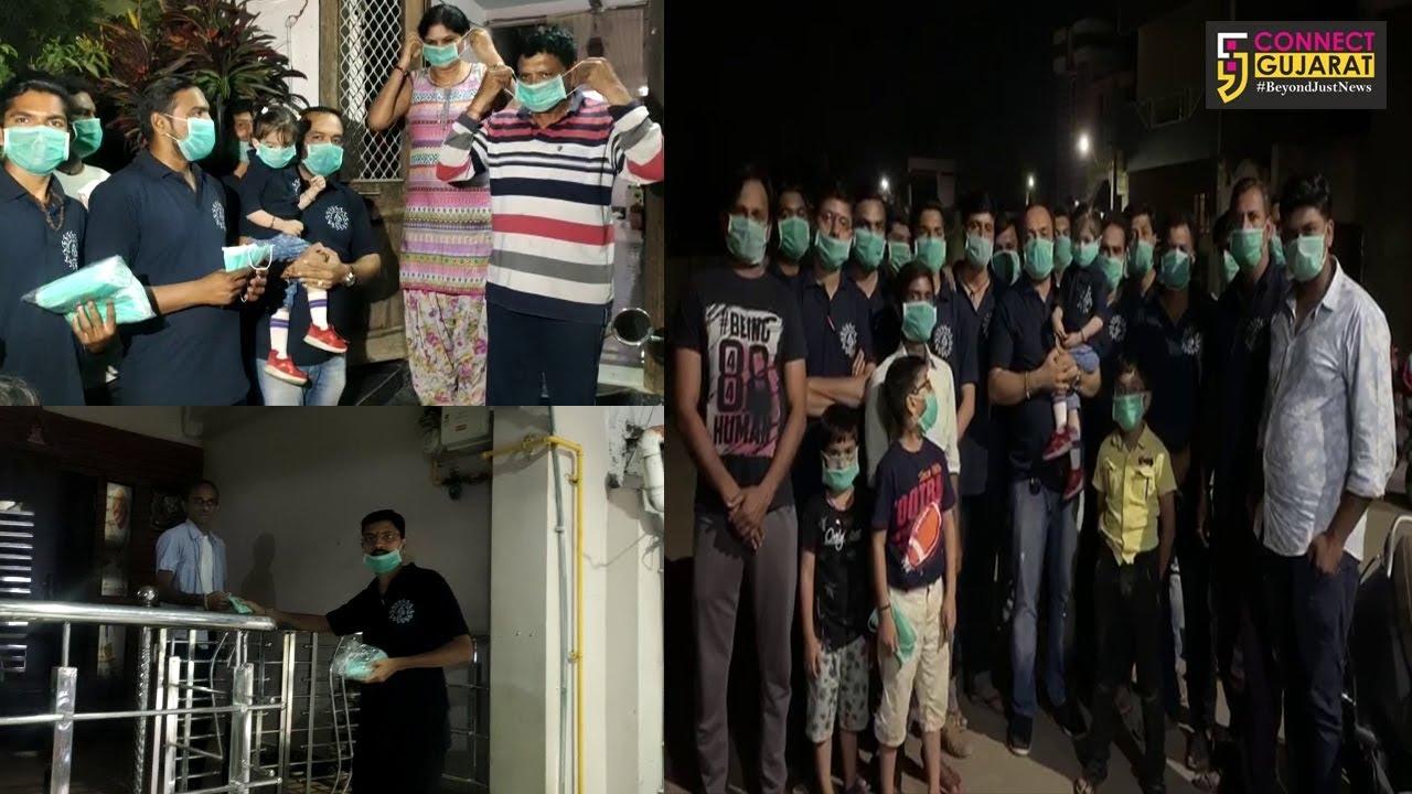 ભરૂચ : અયોધ્યાનગર ખાતે સ્થાનિકોને કરાયું માસ્ક વિતરણ, કોરોના વાયરસને પગલે હાથ ધરાયો નવતર અભિગમ