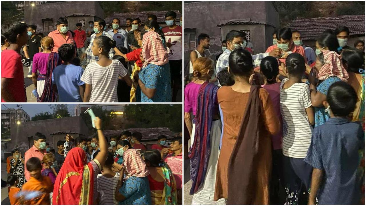 ભરૂચ : ભીડભંજન નગરમાં લોકોને માસ્કનું વિતરણ કરાયું, કોરોના વાયરસથી સાવચેત રહેવા કરાઇ અપીલ