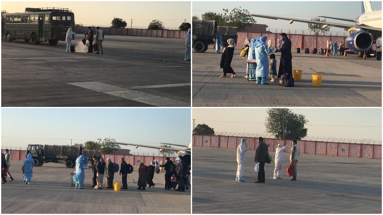કોરોના ઇફેક્ટ: 275 ભારતીયોને ઇરાનથી જોધપુર પરત લવાયા