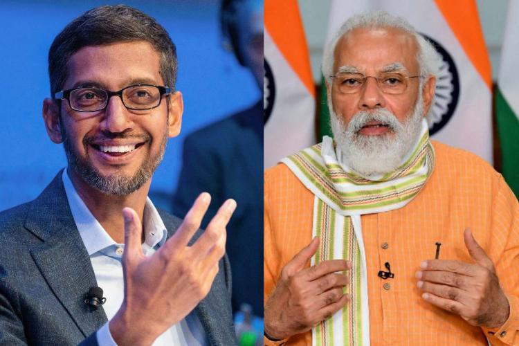 ભારતમાં ગૂગલ ફોર ઈન્ડિયા ડિજિટાઈજેશન ફંડના માધ્યમથી આવનાર 5 વર્ષોમાં 75,000 કરોડ રૂપિયાનું રોકાણ કરશે